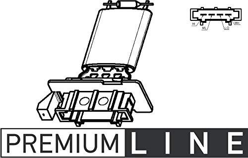 MAHLE ABR 98 000P A/C-Gebläseregler und Widerstand BEHR PREMIUM LINE