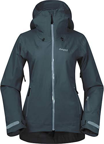 Bergans Stranda Isolierende Hybrid Jacke Damen Forest Frost Größe L 2020 Funktionsjacke