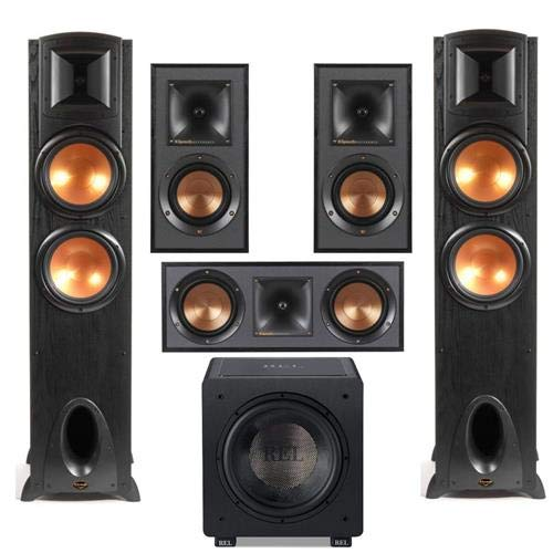 Sale!! Klipsch 2X Synergy Black Label F-300 - R-41M Bookshelf Home Speakers (Pair) - Reference R-52C...