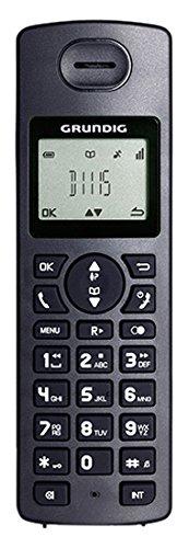 Grundig D1115 Black Festnetztelefone mit Anrufbeantworter