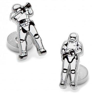 MasGemelos Stormtrooper Action Star Wars Manschettenknöpfe