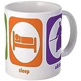 11 ounce Mug - Eat Sleep Aikido Mug - S White'