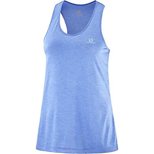 Salomon Agile Camiseta De Tirantes Mujer Trail Running Senderismo