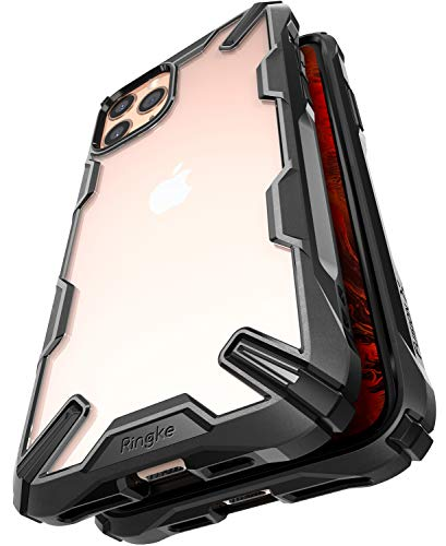 Ringke Fusion-X Diseñado para Funda Apple iPhone 11 Pro, Transparente al Dorso Carcasa iPhone 11 Pro 5.8' Protección Resistente Impactos TPU + PC Funda para iPhone 11 Pro 2019 - Black