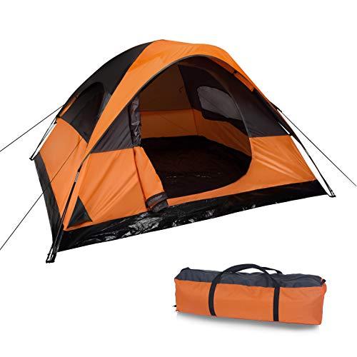 MQ Camping-Zelt (244 x 213 cm) für 2 oder 3 Personen - leichtes, wasserdichtes Zelt als ideale Camping Ausrüstung