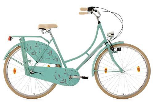 KS Cycling Hollandrad 28'' Tussaud Mint matt 3 Gänge RH 54 cm