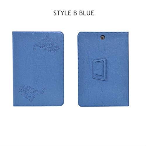 XXIUYHU Flip Case Für Hp Pro Tablet 608 G1 Magnetabdeckung Ständer Halter Pu Ledertasche Für Hp Pro Tablet 608 G1 Z8500 7.9 '' Tablet TascheStyle B Blau