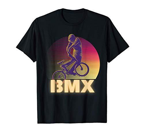 Retro Vintage Outfit für Jugendliche Mädchen und Jungs BMX T-Shirt