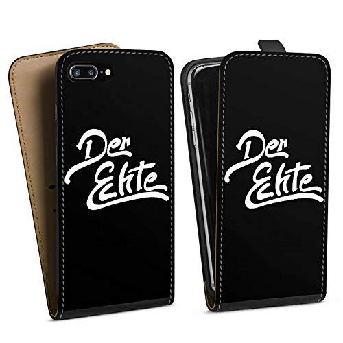 DeinDesign Tasche kompatibel mit Apple iPhone 8 Plus Flip Case Hülle ApoRed Merchandise Fanartikel Youtuber