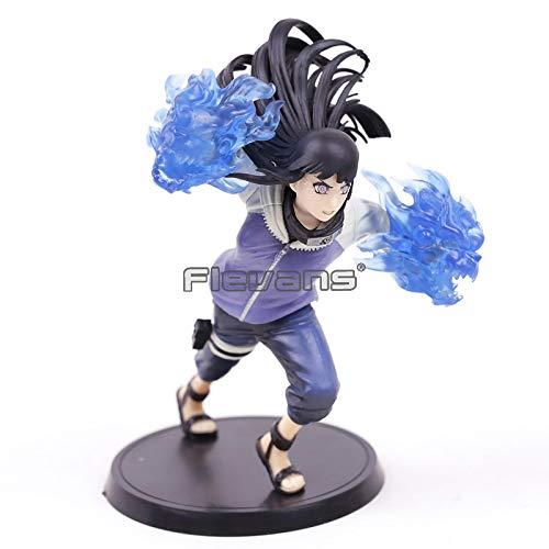 MSC Toy Figur Naruto Shippuden Hinata Hyuga 16 cm Anime Actionfigur PVC Sammlung Spielzeug Anime Manga