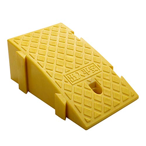 Dis-po Curb Ramps Plastic Road, Outdoor Slope Ramps, Road Tooth Car Step Ramps Bicycle Wheelchair Non-Slip Threshold Pad