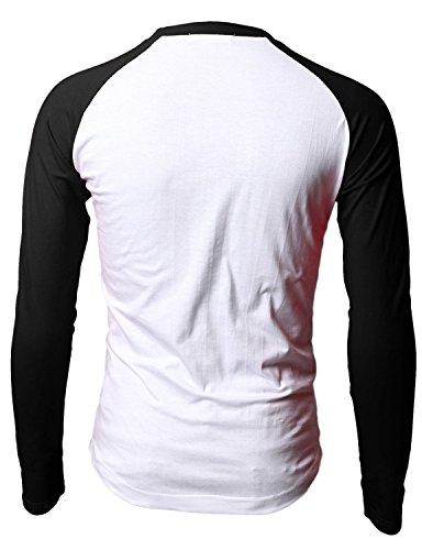 Mens Jim Morrison The Doors Long Sleeve Raglan Baseball Shirts