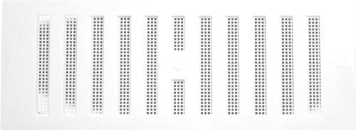Plumb-Pak - Griglia di aerazione regolabile, 229 x 76 mm, colore: Bianco