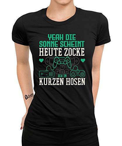 Gaming Videogame Zocks Gamer Nerd Geek CPU GPU Mujer Camiseta Gaming 04 Women S