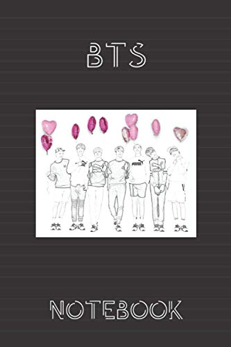 BTS Notebook: Lined workbook for One and Only Fans | version # 1