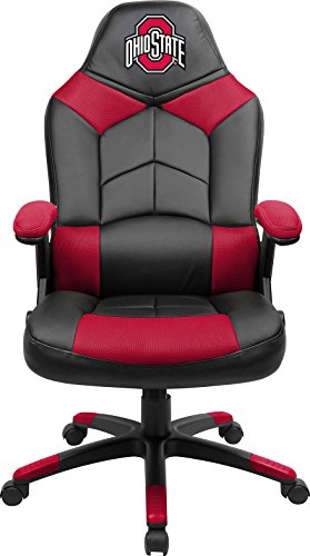 Imperial Officially Licensed NCAA Furniture; Oversized Gaming Chairs, Ohio State Buckeyes