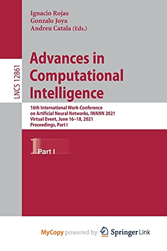 Advances in Computational Intelligence: 16th International Work-Conference on Artificial Neural Networks, IWANN 2021, Virtual Event, June 16-18, 2021, Proceedings, Part I