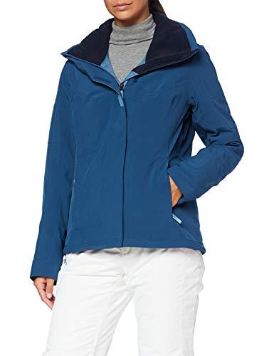 Salomon Damen Ski-Jacke, SPEED JACKET W, Polyamid/Polyester/Elasthan, Blau (Dark Denim), Größe: M, LC1380400