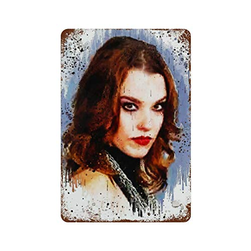"""Lzzy Hale Tin Sign Metal barber shop decor Wall Signs Hall Cafe Garage Poster Vintage Plate Painting 11.8""""×7.9"""""""