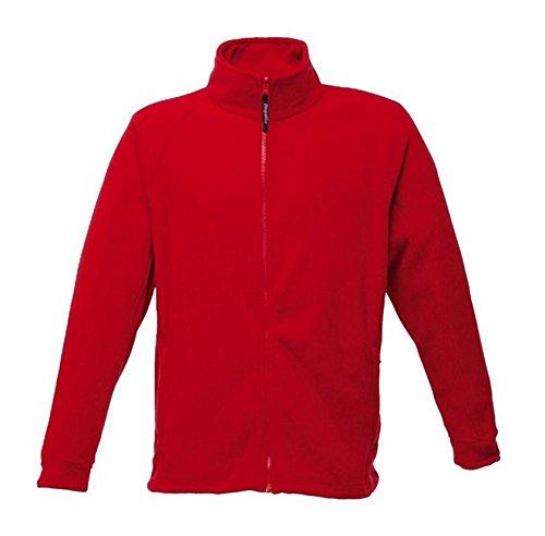 Regatta Polaire Homme zippée avec Propriété de séchage Rapide Thor III Fleece Homme Classic Red FR: XL (Taille Fabricant: XL)
