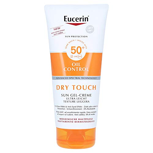 Eucerin Dry Touch Sun Gel-Creme ultraleicht LSF 50+, 200 ml Creme
