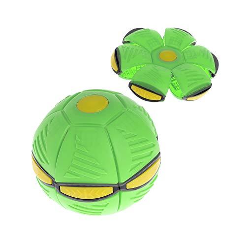 Nlne Frisbee Verformung UFO Ball Mini Drohne UFO Für Eltern-Kind Strand Spielzeug,Grün