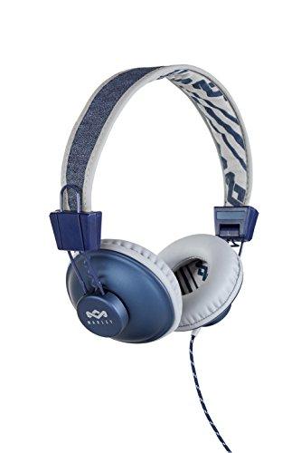 Marley EM-JH011-DN Positive Vibration On-Ear Kopfhörer Denim