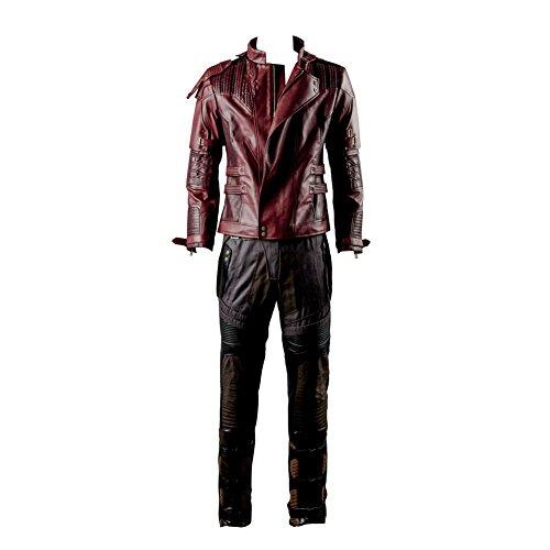 Guardians of The Galaxy 2 Peter Jason Quill Starlord Cosplay Kostüm Nur Jacke Herren Maßanfertigung