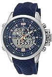 Reloj Radiant para Hombre con Correa Azul y Pantalla en Azul RA400605