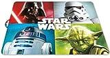 ALMACENESADAN 2465; tovagliette Star Wars 4 Caratteri; Dimensioni 43x29 cm; Prodotto di plastica; No BPA