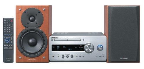 Kenwood K 711 Kompaktanlage (CD/MP3/WMA-Player, UKW-/MW-Tuner) Silber