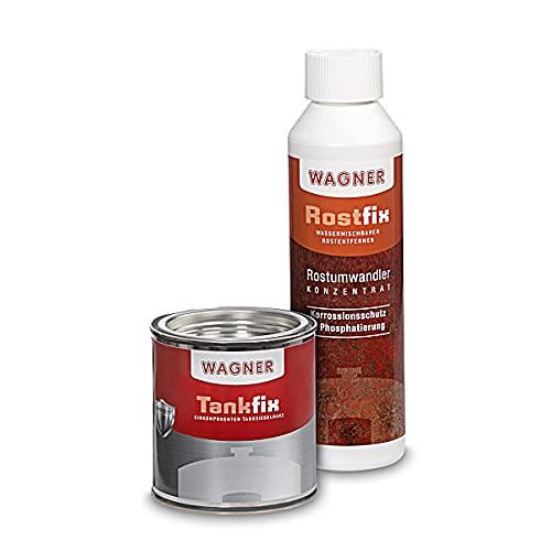 WAGNER Kit de traitement pour réservoirs de motos (volume 10 litres) - 071000
