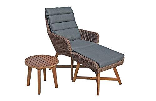 Gravidus gezellige loungeset, bruin