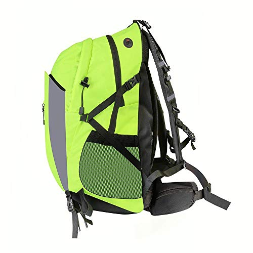 Proviz Classic Hi Viz Reflective 30L Backpack, Yellow Rucksack Bag Hi Visibility