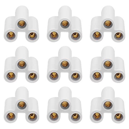 SOLUSTRE 20Pcs T8 T5 LED Connettore Della Lampada per LED Zoccolo Del Supporto Della Lampada Raccordi con Cavi