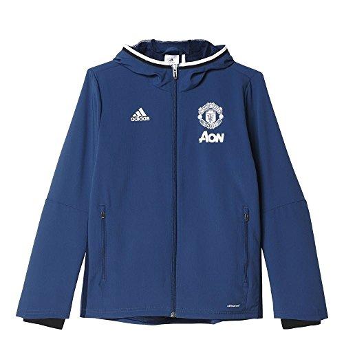 adidas AP0991 Chándal Manchester United, Niños, Azul, L