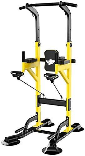 YZSL Entrenamiento Multifuncional estación, la estación de Paralelo Dip Bares Cross Training Home Fitness Gym Parallettes Peso Corporal Entrenamiento Calistenia Cojines
