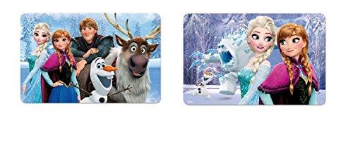 les colis noirs lcn Set Dessous de Table Bureau 3D Frozen Disney - Repas Fille - ALEATOIRE - 963