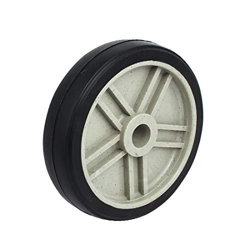 New Lon0167 190mm 7.5-inch Featured Dia 25.8mm Inner reliable efficacy drills holes Plastic Air Compressor Wheel Black(id:5fb 3d 3e 78e)