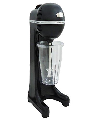 Johny AK/2–2TA de Eco de bebidas bl automático Licuadora Frappé de Maker, frapiera, 2velocidades, fabricado en Grecia, Negro