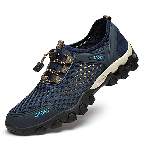N\C Transpirable ocio malla deportes zapatos hueco malla al aire libre senderismo zapatos deportes senderismo zapatos