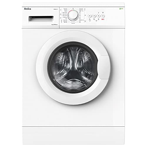 Amica WME610 Freestanding Washing Machine, 6kg Load, 1000rpm Spin, 23...