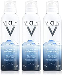 Vichy Mineralizing Thermal Water Spray, from French Volcanoes, 5.1 Fl. Oz. (3 Pack)