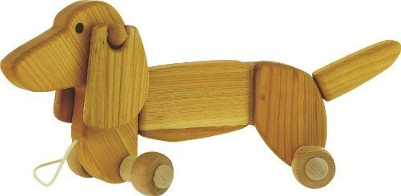 Zum Ziehen Hund - Dackel - Holzspielzeug von BAJO B00BK9N2BE    Optimaler Preis