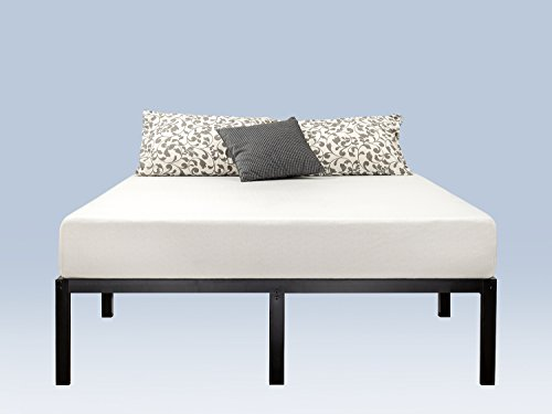 Zinus Yelena 14 Inch Classic Metal Platform Bed Frame with Steel Slat Support / Mattress Foundation, Full