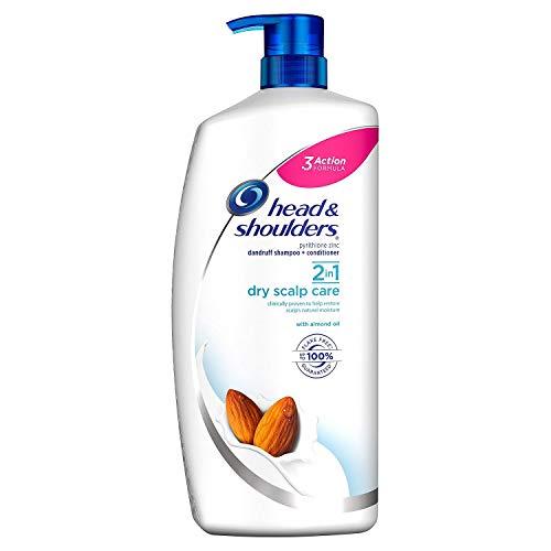 dandruff shampoos for dries Head & Shoulders 2-n-1 Dandruff Shampoo & Conditioner, Dry Scalp (43.3 fl. oz.)