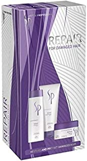 Wella SP System Professional Repair Shampoo Conditioner & Mask Trio