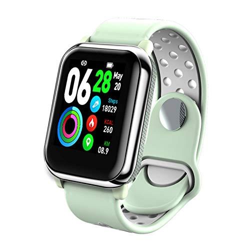 LIQIANG Smartwatch con De Pulso Esfigmomanómetro Y Pulsómetro Reloj Inteligente Impermeable para Hombre Mujer, Cronómetro para Android iOS