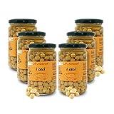 Carioni Food & Health Garbanzos Bio al Natural - 300 gr (Paquete de 6 Piezas)
