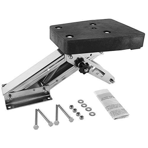YaeMarine 2 Stroke Outboard Motor Bracket Kicker for Boat